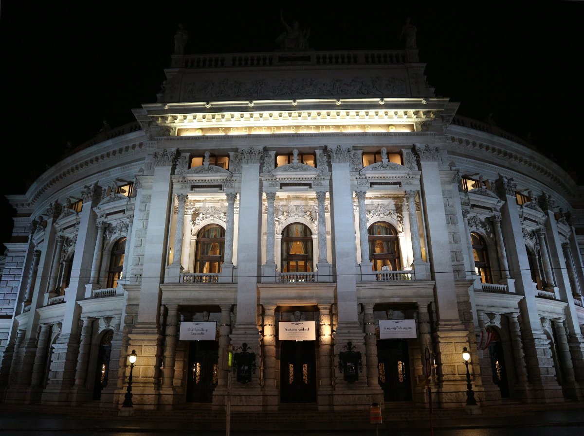 The Hofburg Theater.