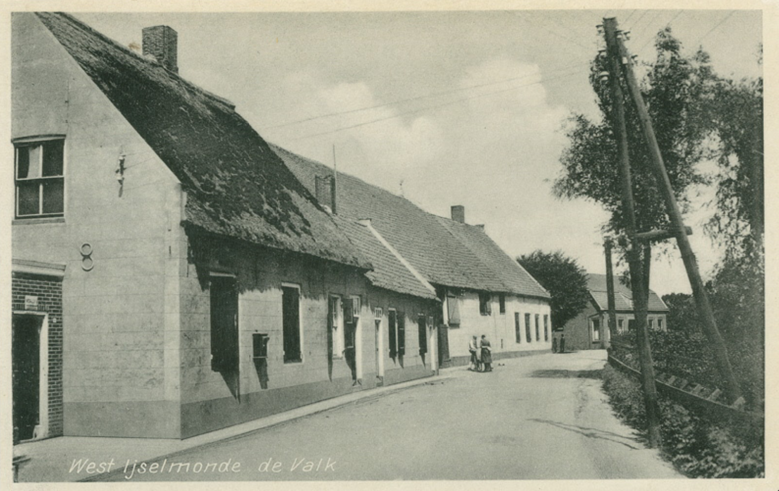 A view of part of the Hordijk from around 1930. Source: Stadsarchief Rotterdam.